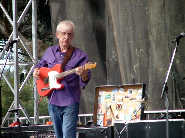 Bill Kirchen, who was great. We wore exact same shirt but mine short sleeved.