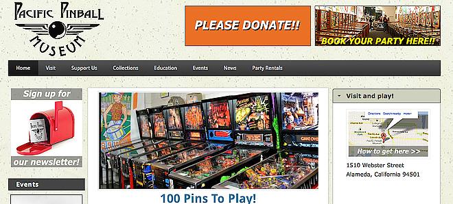 Pacific Pinball Museum - Alameda, California