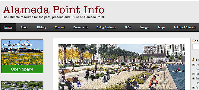 Alameda Point Info - Community Website