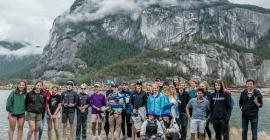 The 29'er racers at Squamish