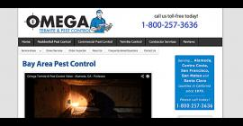 Omega Termite and Pest Control - Oakland, California