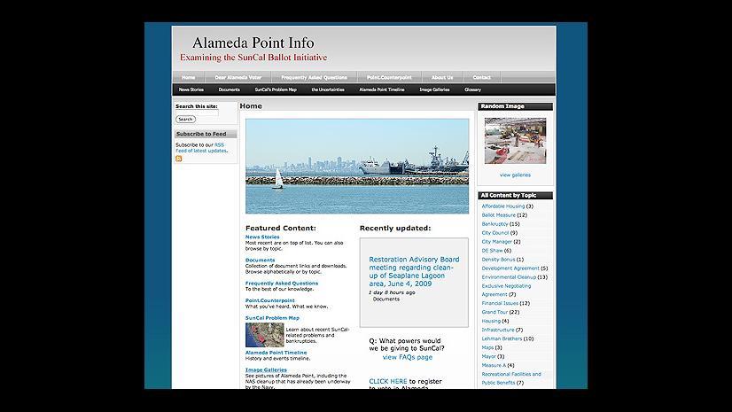 Alameda Point Info