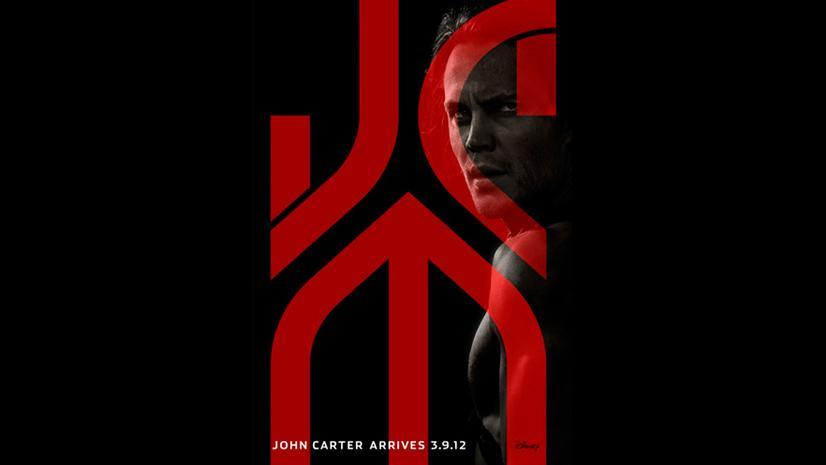 Movie poster for John Carter of Mars