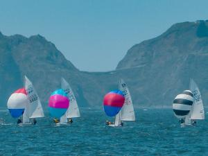 420 racing on the San Francisco Cityfront out of the St. Francis Yacht Club