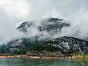 The wet scenery at Squamish!