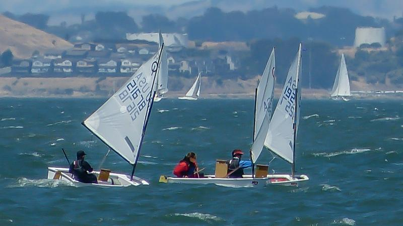 Optimist Heavy Weather Regatta at the St. Francis Yacht Club