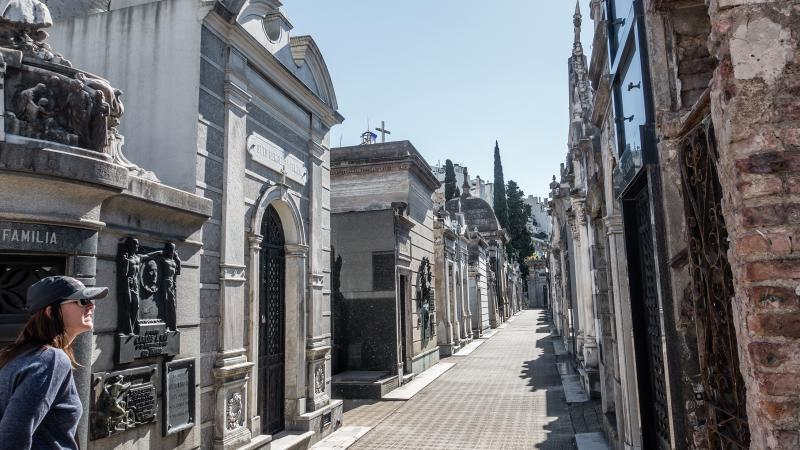 City of the Dead in Buenos Aires