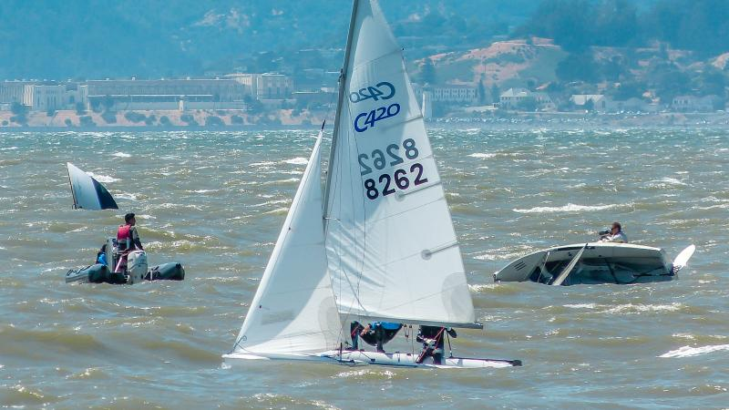 Summertime on San Francisco Bay
