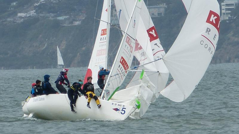 Match racing at the St. Francis Yacht Club