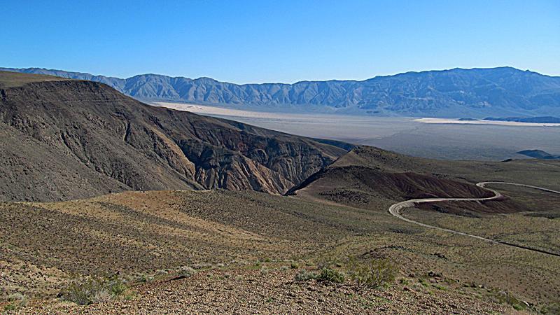 Entering Death Valley National Park
