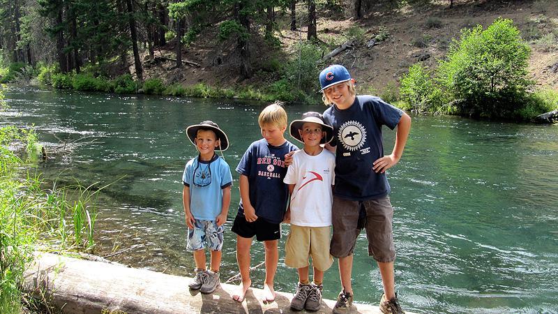 Metolius River w/ the Jackson Boys