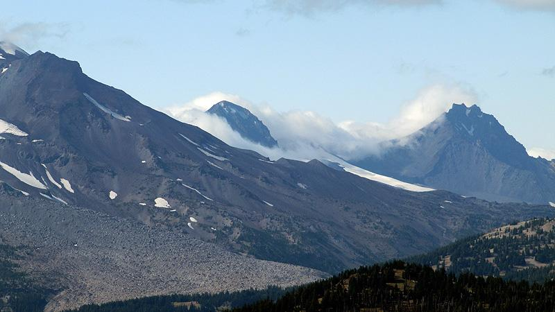 Another View of 3 Sisters from Mt. Bachelor.