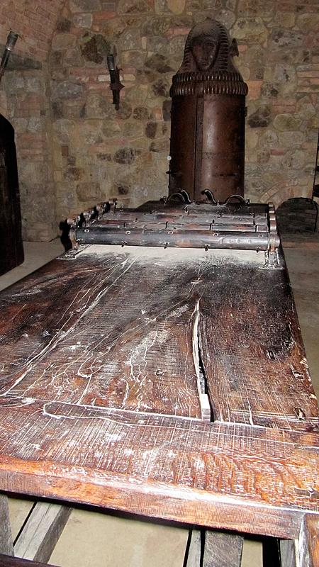 Torture rack - Castello di Amorosa