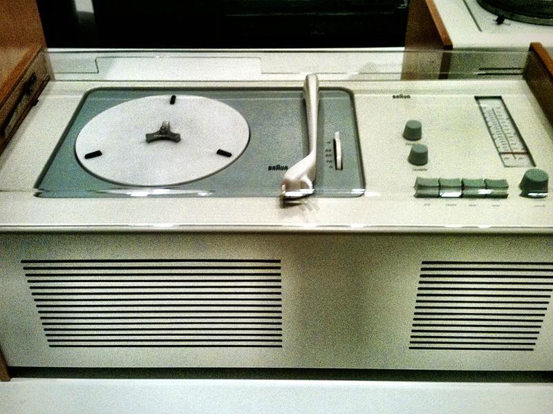 "The ""Braun Phonosuper SK 4"", designed by Dieter Rams and Hans Gugelot."