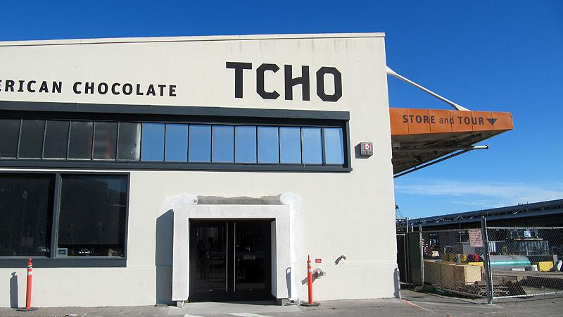 We took a tour of TCHO. If you were lucky, we sent you some Christmas Chocolateo