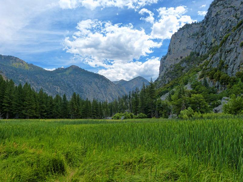 Kings Canyon... Yosemite without all of the people.