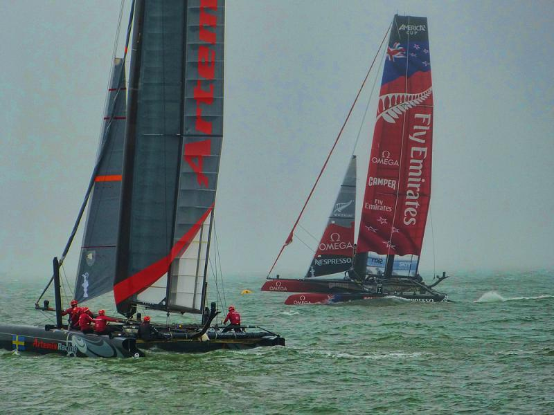 Artemis and Emirates Team New Zealand