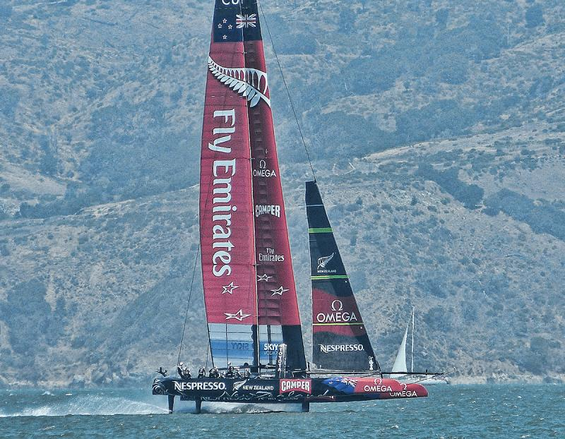 Emirates Team New Zealand is the team to beat.