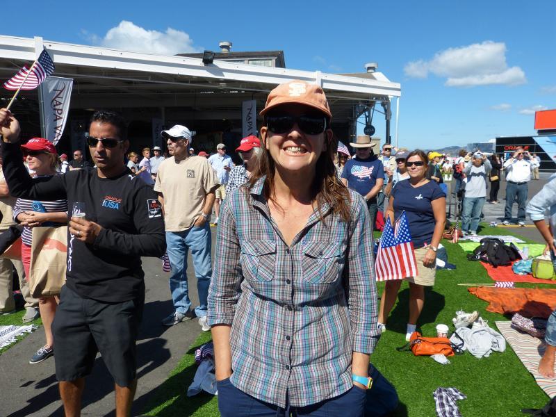 Kari at America's Cup Park