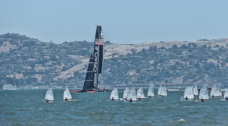 Oracle joins the opti race course.