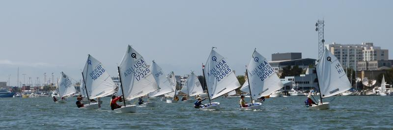 The Green Fleet - EYC Regatta