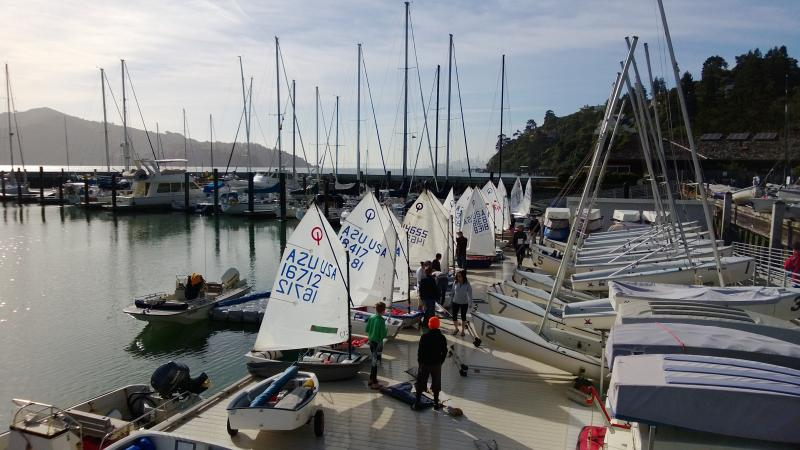 Ready to dock out - SFYC Regatta