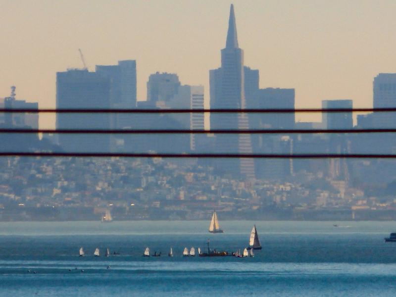 Taken from lower down on Tiburon, further East.