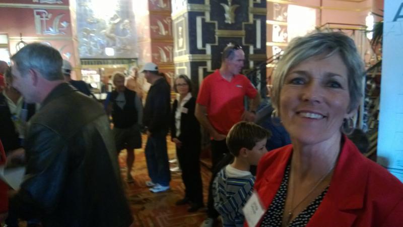 Deborah at our Artemis event at Alameda Historic Theatre