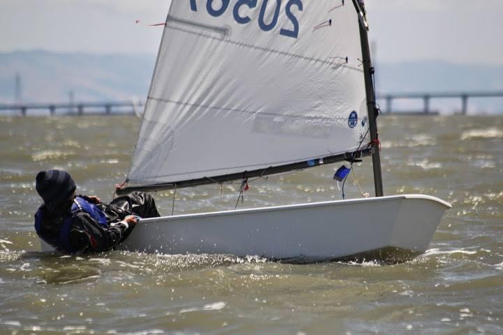 Simon racing in the south bay.