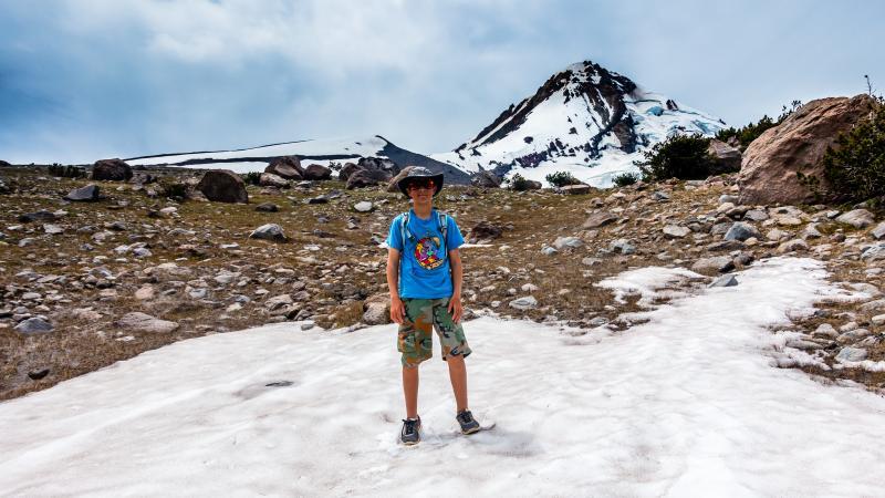 Up at Cloud Cap on Mt. Hood