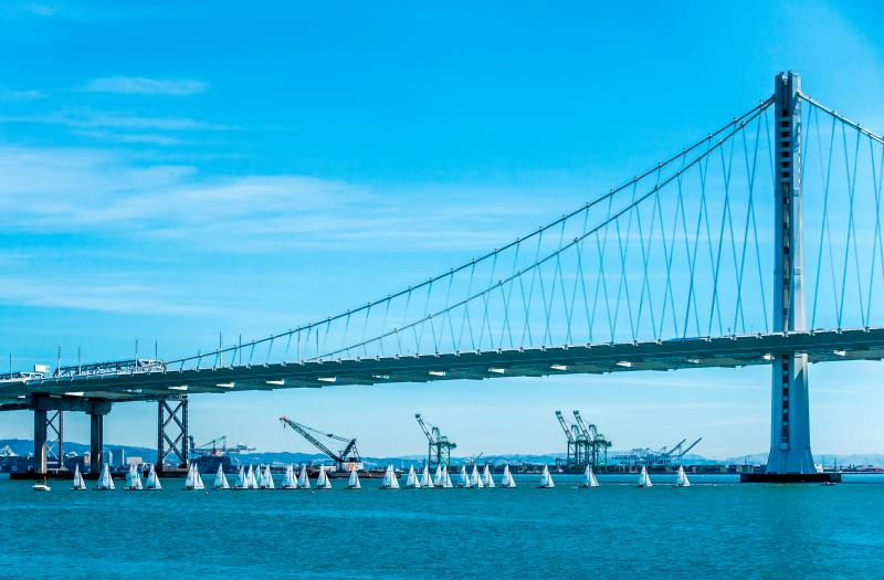 New span of the Oakland Bay Bridge