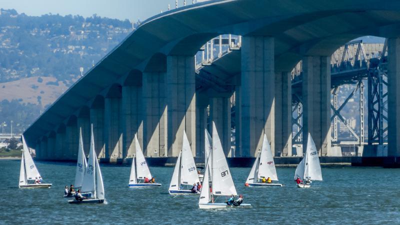 New Bay Bridge Span as backdrop.
