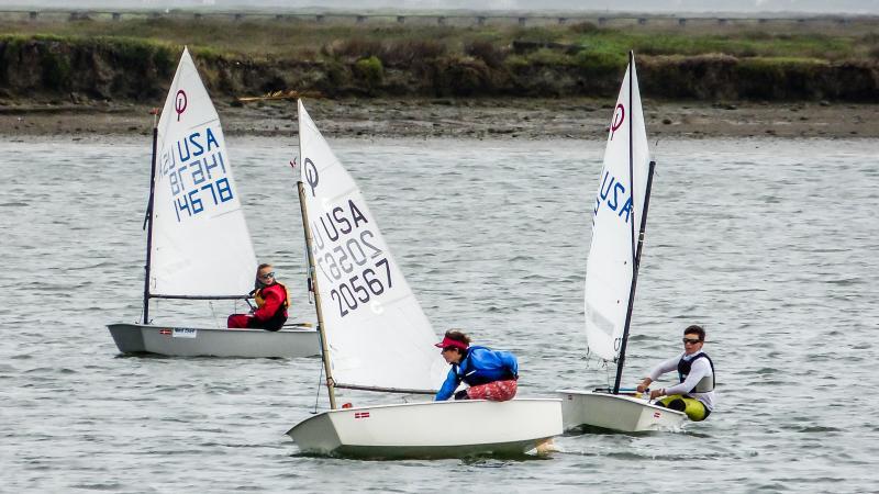 Simon #20567 racing Sarah and Will.
