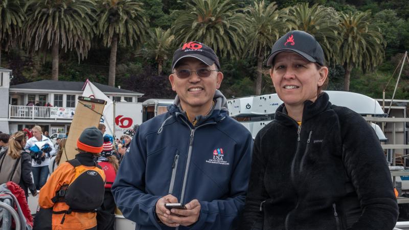 Peter Lim and Kari