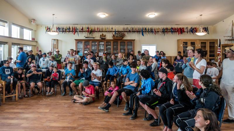 End of summer BAYS awards at Half Moon Bay