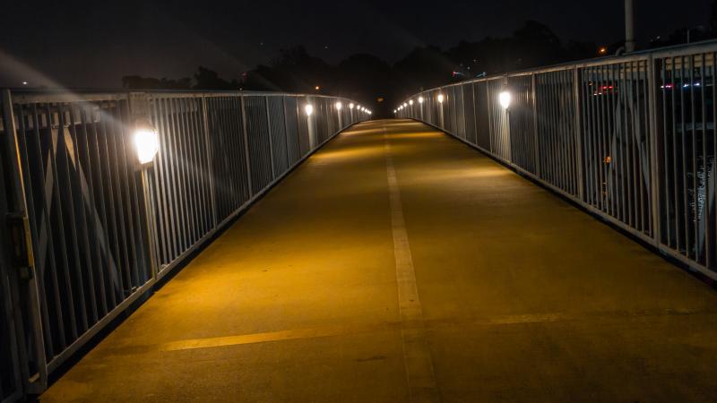 Alameda Bike Bridge