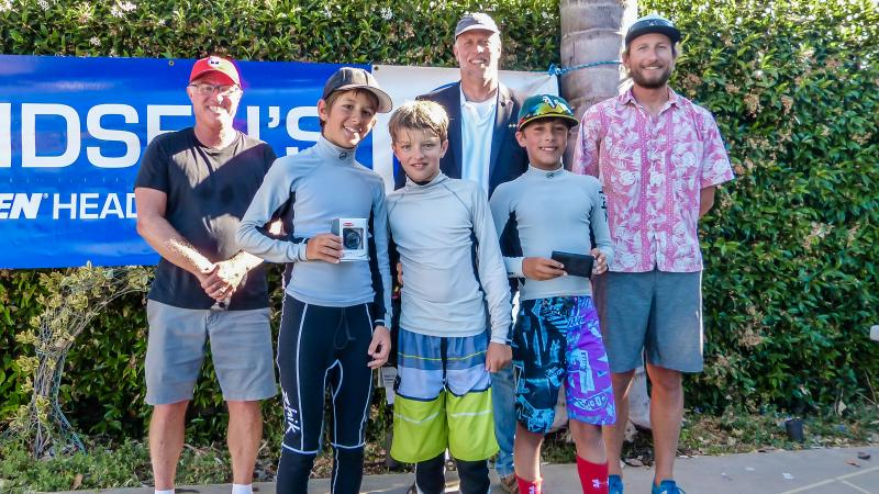 Opti Winners (Henry won second year in row, Simon year before that.)