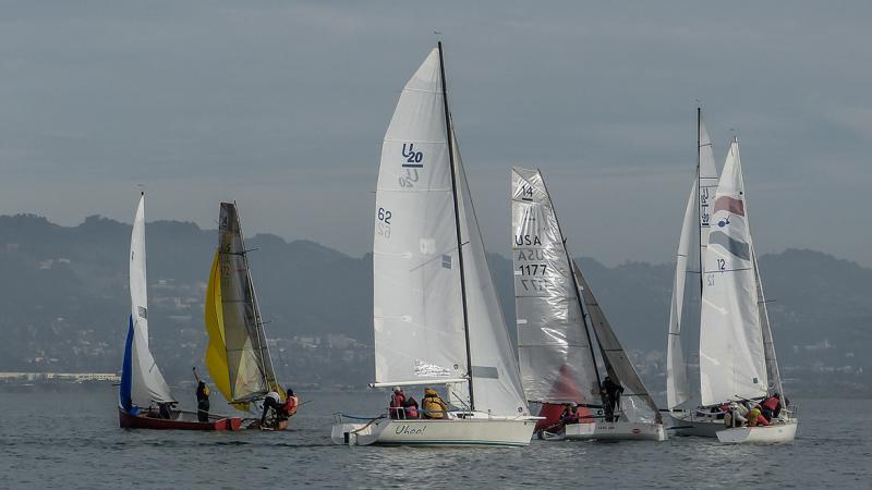 More boats racing at RYC