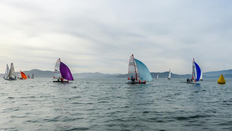 29er regatta at RYC