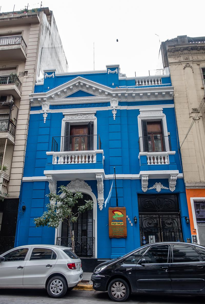 Somewhere else in Buenos Aires.