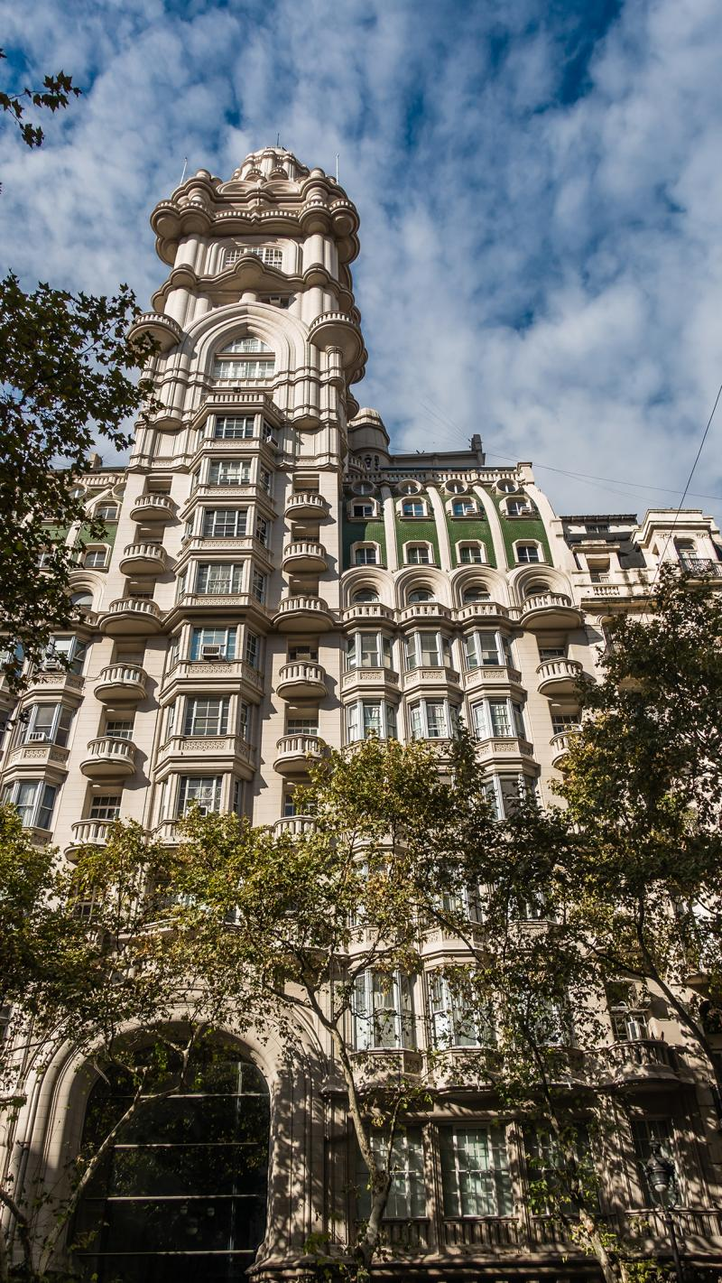Palacio Barolo - our favorite building in Buenos Aires. More on this later.