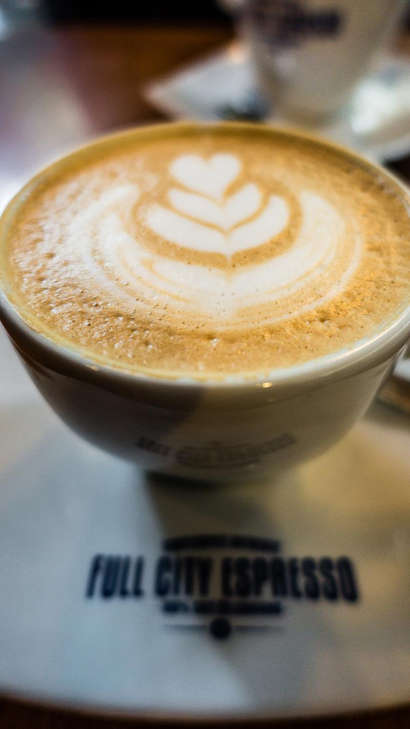 Behold... the best coffee we found in Buenos Aires is at Full City (Soho.)