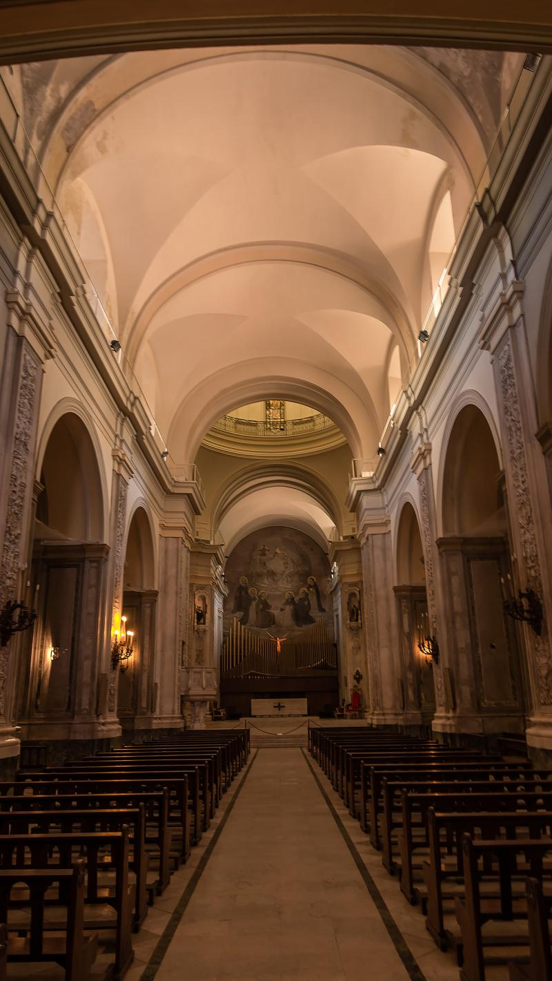 Inside Convento Santo Domingo