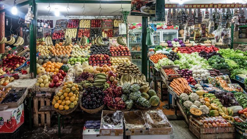 Fruit stand San Telmo