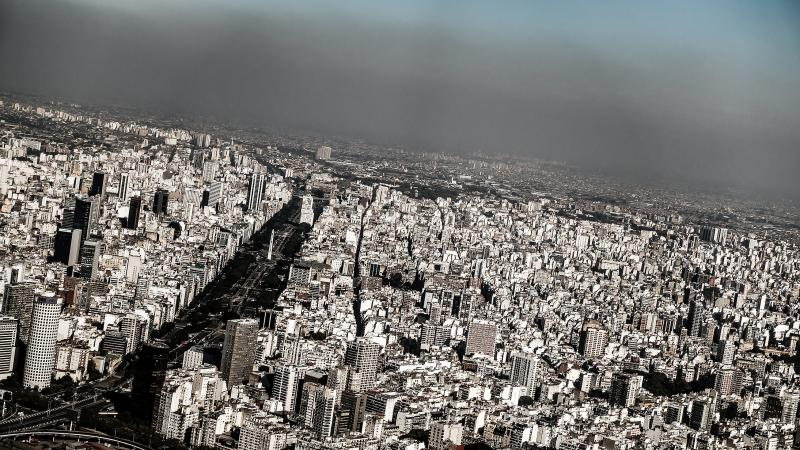 Flying out of Palermo, Buenos Aires
