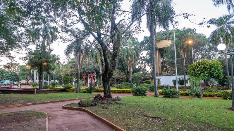 Plaza de Armas, Encarnacion, Paraguay