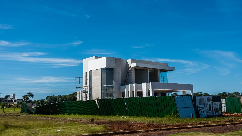 Several of these vacation houses are being build at Agua Vista. Very nice homes for about $50K USD.