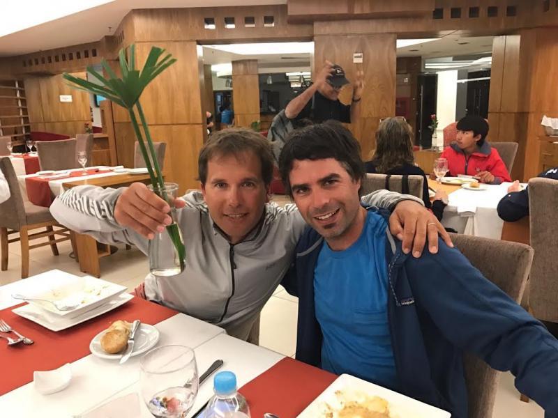 Team USA coaches Pepe and Tomas.