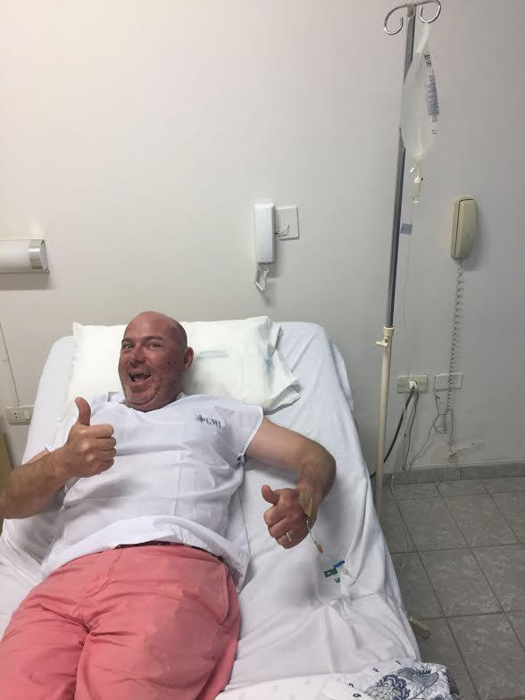Mr. Foley (USA dad) went to Paraguay, got bit by a mosquito, and spent most of trip in hospital :-(