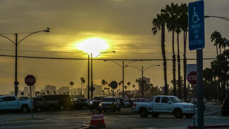 Sunset Long Beach